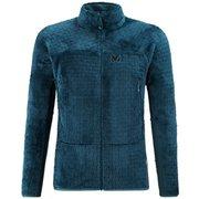 フュージョン ライン ロフト ジャケット FUSION LINES LOFT JKT M MIV8851 ORION BLUE 8737 Lサイズ(日本:XLサイズ) [アウトドア フリース メンズ]