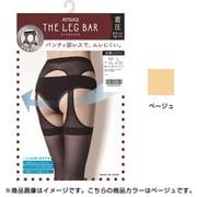 FT10021 [パンティ部レス ストッキング THE LEG BAR(レッグバー) 着圧 M~L ベージュ]