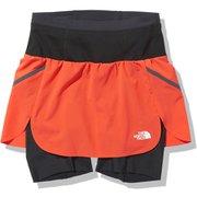 フライウェイトレーシングスカート Flyweight Racing Skirt NBW41978 フレアオレンジ(FL) Lサイズ [アウトドア スカート レディース]