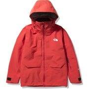 パウダーガイドジャケット Powder Guide Jacket NS62001 フレアオレンジ(FL) Mサイズ [スキーウェア ジャケット メンズ]