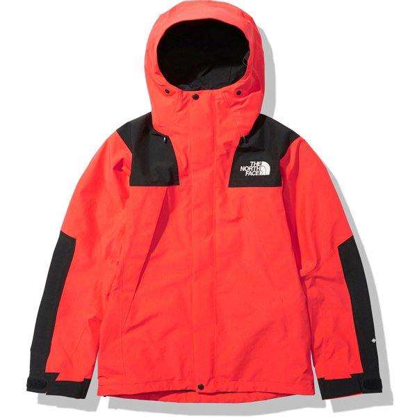 マウンテンジャケット Mountain Jacket NP61800 フレアオレンジ(FL) Sサイズ [アウトドア ジャケット メンズ]