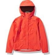 FLドリズルジャケット FL Drizzle Jacket NPW12014 フレアオレンジ(FL) Lサイズ [アウトドア レインジャケット レディース]
