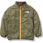 ノベルティーリバーシブルコージージャケット Novelty Reversible Cozy Jacket NYJ82033 バーントオリーブ(BG) 140cm [アウトドア ジャケット キッズ]