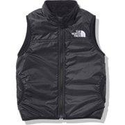 リバーシブルコージーベスト Reversible Cozy Vest NYJ82034 ブラック(K) 120cm [アウトドア ジャケット キッズ]