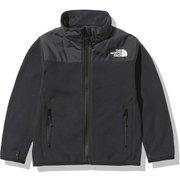 ジップインマウンテンバーサマイクロジャケット ZI Mountain Versa Micro Jacket NAJ72040 ブラック(K) 150サイズ [アウトドア ジャケット キッズ]