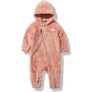 シェルパフリーススーツ B Sherpa Fleece Suit NAB72049 ピンククレイ BMサイズ [アウトドア トップス キッズ]