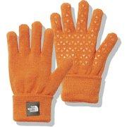 ニットグローブ Kids' Knit Glove NNJ61907 ヘリテージオレンジ(HO) KFサイズ [アウトドア グローブ キッズ]