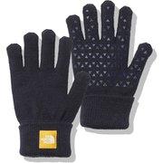 ニットグローブ Kids' Knit Glove NNJ61907 TNFネイビー(NY) キッズフリーサイズ [アウトドア グローブ キッズ]