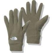 マイクロフリースグローブ Kids' Micro Fleece Glove NNJ62001 ニュートープ(NT) Sサイズ [アウトドア グローブ キッズ]