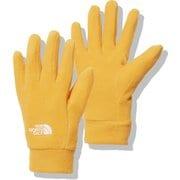 マイクロフリースグローブ Kids' Micro Fleece Glove NNJ62001 サミットゴールド(SG) Sサイズ [アウトドア グローブ キッズ]