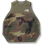 シェルパフリーススリーパー Baby Sherpa Fleece Sleeper NNB72005 バーントオリーブ(BG) ベビーフリーサイズ [アウトドア 小物 キッズ]