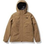 カシウストリクライメイトジャケット Cassius Triclimate Jacket NP62035 ユーティリティブラウン(UB) Sサイズ [アウトドア ジャケット メンズ]