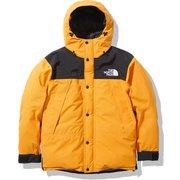 マウンテンダウンジャケット Mountain Down Jacket ND91930 サミットゴールド(SG) XLサイズ [アウトドア ダウンウェア メンズ]