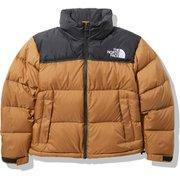 ショートヌプシジャケット Short Nuptse Jacket NDW91952 ユーティリティブラウン(UB) Mサイズ [アウトドア ダウンウェア レディース]