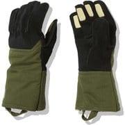 フィルデンスファイヤーフライグローブミッド Fieludens Firefly Glove Mid NN62016 イングリッシュグリーン(EG) Sサイズ [アウトドア キャンプ グローブ]