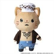 ONE PIECE with CAT アイマスク付き ぬいぐるみ BIGサイズ ロー [キャラクターグッズ]