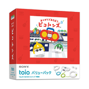 "toio(トイオ) バリューパック ""おんがくであそぼう ピコトンズ"" 同梱版 [TPHJ-10002]"