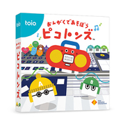toio(トイオ) 専用カートリッジ おんがくであそぼう ピコトンズ [TQJS-00006]