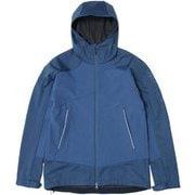 Hillside Soft Shell Jacket PHA52WT12 スモークブルー Sサイズ [アウトドア ジャケット メンズ]