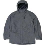 Banff 2×Zip Jacket PHA52ST20 ダークグレー Lサイズ [アウトドア ジャケット メンズ]
