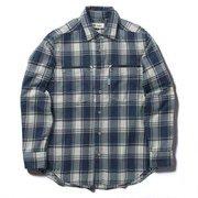 TSイージージッパーシャツ TS Easy Zipper Shirt 5112083 ネイビー XLサイズ [アウトドア シャツ メンズ]
