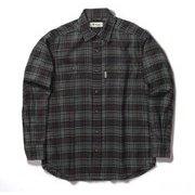 TSテンダーチェックシャツ TS Tender Check Shirt 5112085 ブラック Lサイズ [アウトドア シャツ メンズ]