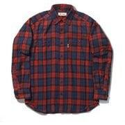 TSテンダーチェックシャツ TS Tender Check Shirt 5112085 レッド XLサイズ [アウトドア シャツ メンズ]