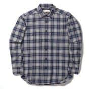 TSウォームチェックシャツ TS Warm Check Shirt 5112088 ネイビー Mサイズ [アウトドア シャツ メンズ]