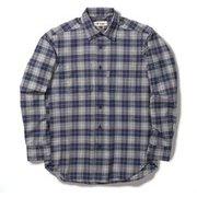TSウォームチェックシャツ TS Warm Check Shirt 5112088 ネイビー XLサイズ [アウトドア シャツ メンズ]