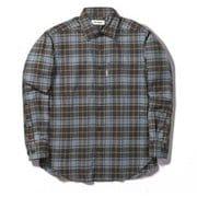 TSウォームチェックシャツ TS Warm Check Shirt 5112088 ブラウン Mサイズ [アウトドア シャツ メンズ]