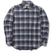 TSストレッチチェックシャツ TS Stretch Check Shirt 5112090 ネイビー Lサイズ [アウトドア シャツ メンズ]