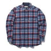 WWレトロチェックシャツ WW Retro Check Shirt 5112091 ブルー Mサイズ [アウトドア シャツ メンズ]