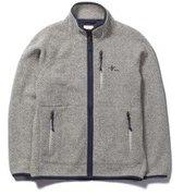 ウェーブフリースフルジップ Wave Fleece Full Zip 5113044 ライトグレー XLサイズ [アウトドア フリース メンズ]