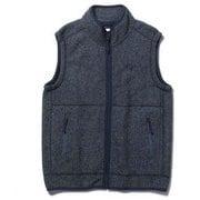 ウェーブフリースベスト Wave Fleece Vest 5113046 ネイビー XLサイズ [アウトドア フリースベスト メンズ]