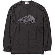 fish L/S Tシャツ fish L/S T-shirt 6115044 ブラック Lサイズ [アウトドア カットソー メンズ]
