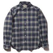 TSウォームチェックシャツ TS Warm Check Shirt 8112049 ネイビー Mサイズ [アウトドア シャツ レディース]