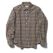 TSストレッチチェックシャツ TS Stretch Check Shirt 8112051 ブラック Lサイズ [アウトドア シャツ レディース]