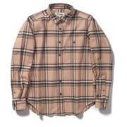 TSストレッチチェックシャツ TS Stretch Check Shirt 8112051 ピンク Mサイズ [アウトドア シャツ レディース]