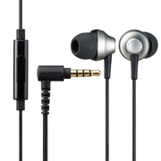 EHP-FS12CMSV [ステレオイヤホン/カナル型/φ3.5mm/マイク付/Fast Music/FS12C/φ10.0mm/高耐久ケーブル/シルバー]