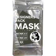 冷感マスク レディース アーミー ANYe(エニー) デザイナーズパックマスク 日本製 1枚 ANDM01-L-AMY