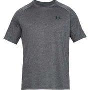 UA Tech 2.0 SS Tee 1358553 CBH/BLK MDサイズ [ランニングシャツ メンズ]