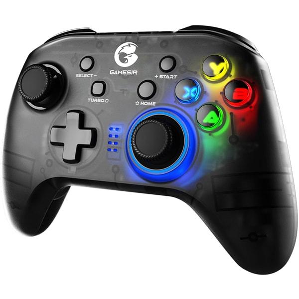 GameSir T4pro [GameSir T4pro モバイルゲーミングコントローラー Nintendo Switch/iOS/Android/PC対応 Bluetooth/USB接続可能 6軸ジャイロセンサー ブラック]