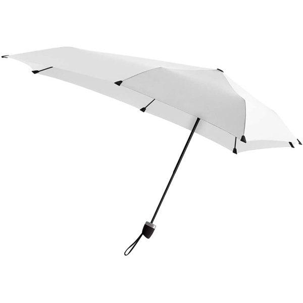 senz301-BW [折りたたみ傘 マニュアル 91×91cm 手開き ユニセックス ブライトホワイト]