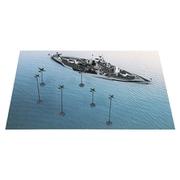 SPS09 1/700 レイテ沖海戦 BB-48 ウエスト・ヴァージニア VS 日本海軍航空隊 [プラモデル SPSシリーズ]