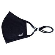 爽快マスク アジャスター機能付き 男性フリーサイズ ブラック COOL MASK 洗えるマスク 1枚入り AC-MASK002F-BK