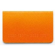 RFD2113D [2021 カードサイズダイアリー マンスリー ブロック 2020年12月~2022年3月 オレンジ]