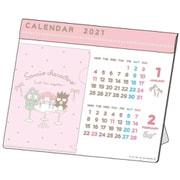 S8518890 デスクカレンダー ポケットファイル サンリオMIX [キャラクターグッズ]