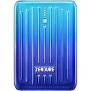 ZDSM10PD-OB [ZENDURE_SUPER Mini ブルー 10000mAh モバイルバッテリー]