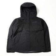 ウッドロードジャケット Wood Road Jacket PM3801 010 Black Mサイズ [アウトドア レインジャケット メンズ]