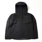 ウッドロードジャケット PM3801 010 BLACK XLサイズ [アウトドア レインジャケット メンズ]